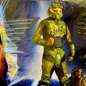 Halo Deluxe Master Chief Costume NO HELMET